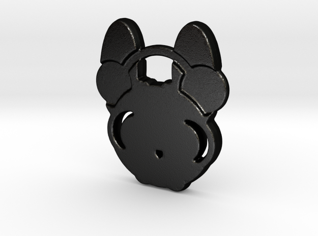 frenchie in Matte Black Steel