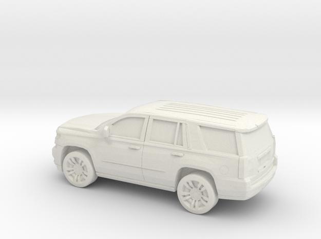 1/100 2015 Chevrolet Tahoe in White Natural Versatile Plastic