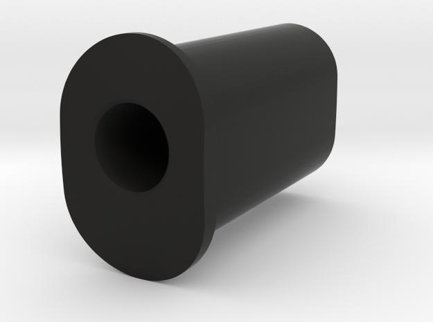 5 Deg Insert in Black Natural Versatile Plastic