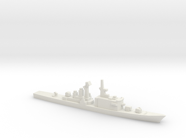 Tachikaze-class destroyer, 1/2400 in White Natural Versatile Plastic