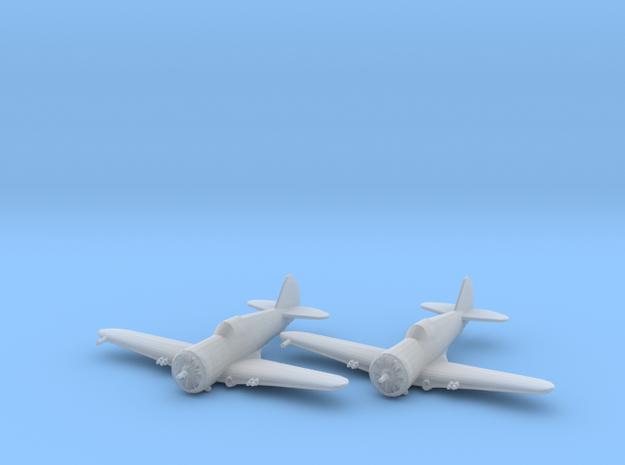 Curtiss P-36 'Hawk' 1:200 x2 FUD in Smooth Fine Detail Plastic