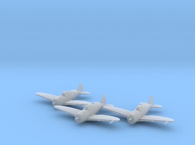 Republic P-43 'Lancer' 1:200 x3 FUD in Smooth Fine Detail Plastic