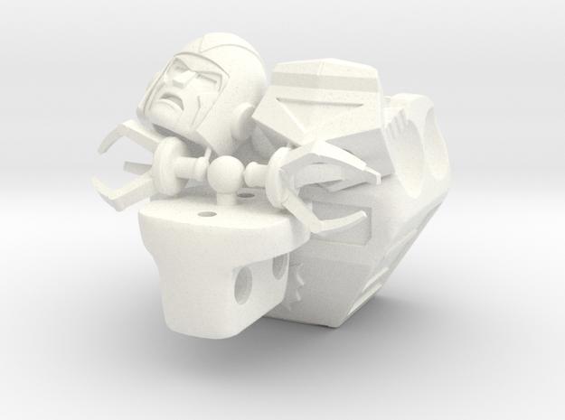 Multibot Multipack in White Processed Versatile Plastic