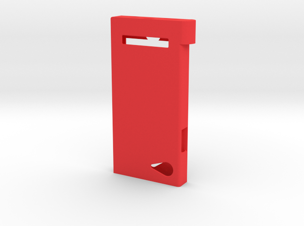 Pokedex Case Body in Red Strong & Flexible Polished