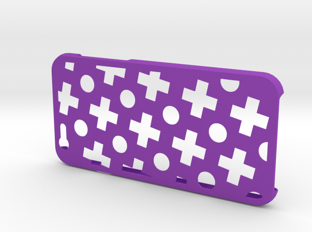 Plus case for iPhone 6 in Purple Strong & Flexible Polished