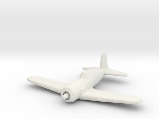 Vultee P-66 'Vanguard' in White Natural Versatile Plastic: 1:200