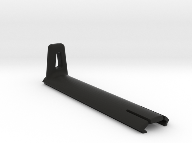 Picatinny rail cover with handstop in Black Strong & Flexible