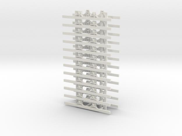 OO9 Underframe 3ft 6 wb x`12 3d printed