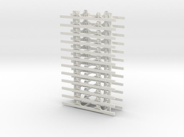 OO9 Underframe 5ft wb x12 3d printed