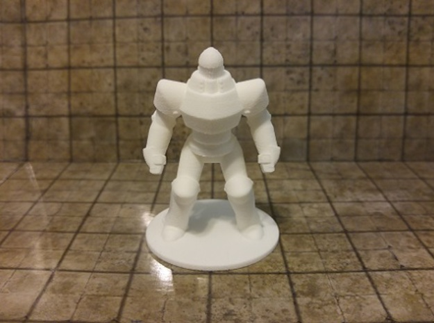 Iron Golem in White Strong & Flexible