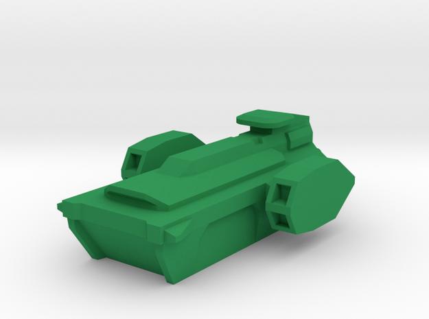 Sampan in Green Processed Versatile Plastic