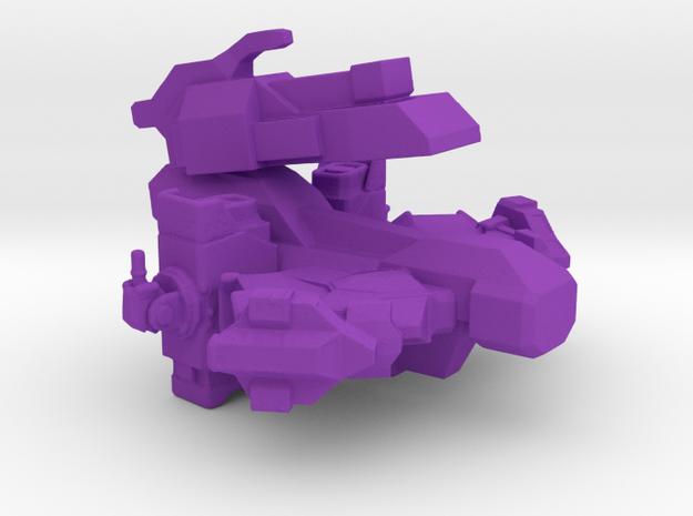 Automated Tanker in Purple Processed Versatile Plastic
