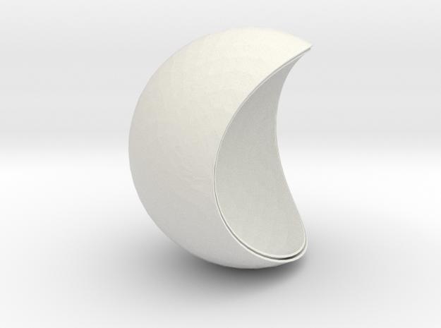 Pendant-LunaLight-D10 in White Natural Versatile Plastic
