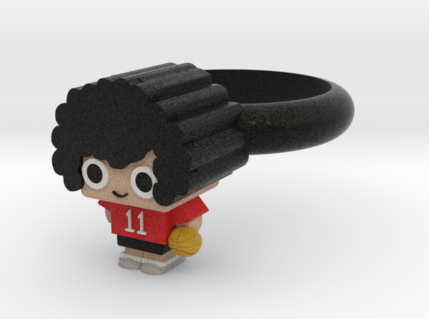 Ring ( Basketball player) in Full Color Sandstone
