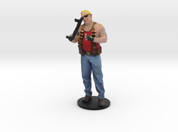 Duke Nukem Recolor in Full Color Sandstone