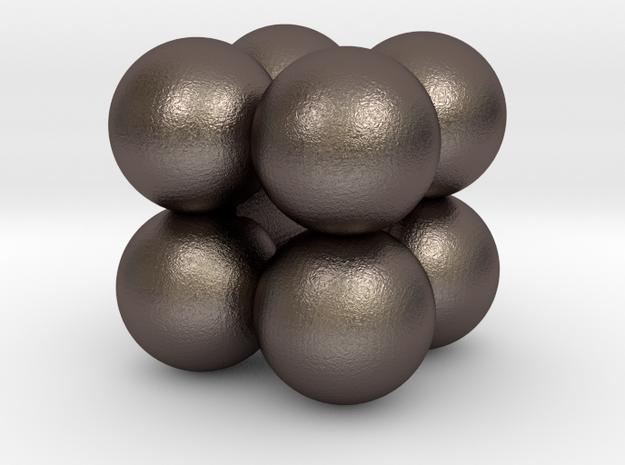 CubOsphere Pendant in Stainless Steel