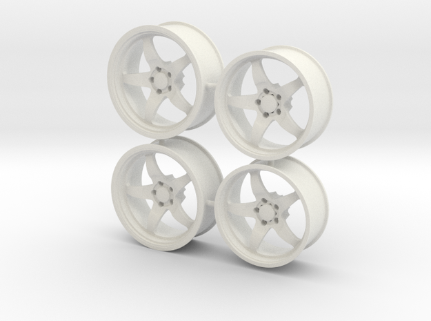Weld S71 for Foose tires 1/12 scale