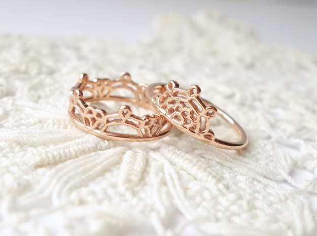 Half Lace Ring - Size 6.5
