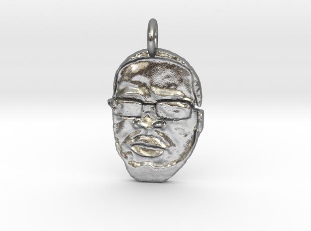 #BigMidas79 Pendant in Natural Silver