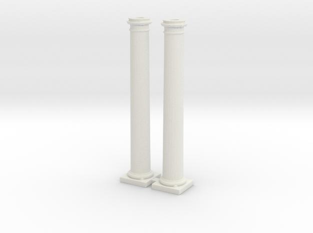Doric Columns 2500mm X 2 Scaled