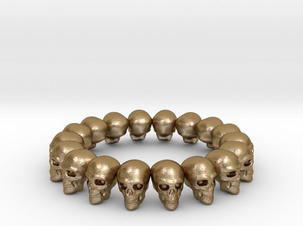 Skulls Ring 17.5 mm