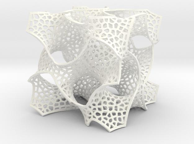 Gayroid Veroni in White Processed Versatile Plastic