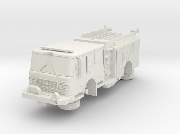 1/64 Bayonne, NJ Dept ALF Engine 3 in White Natural Versatile Plastic
