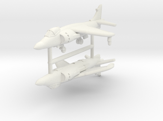 1/350 Sea Harrier FA Mk.2 (x2) in White Strong & Flexible