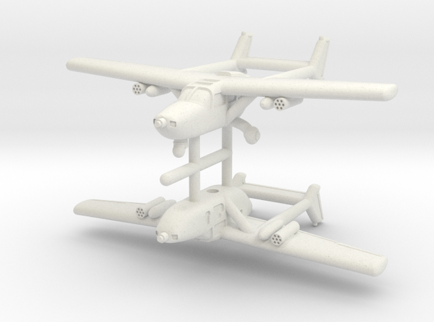1/350 Cessna O-2 (x2) in White Strong & Flexible