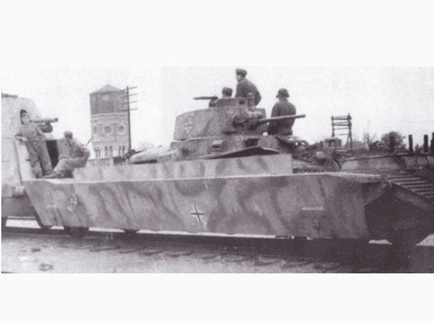 1-72 Panzer-Tr-Wagen For BP-42 3d printed