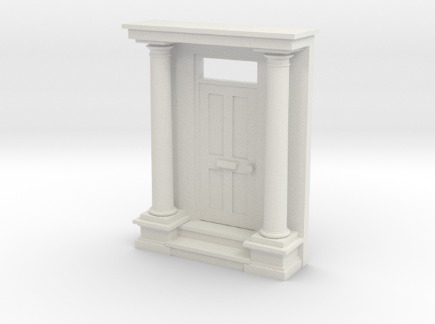 Entrance Portico N Scale