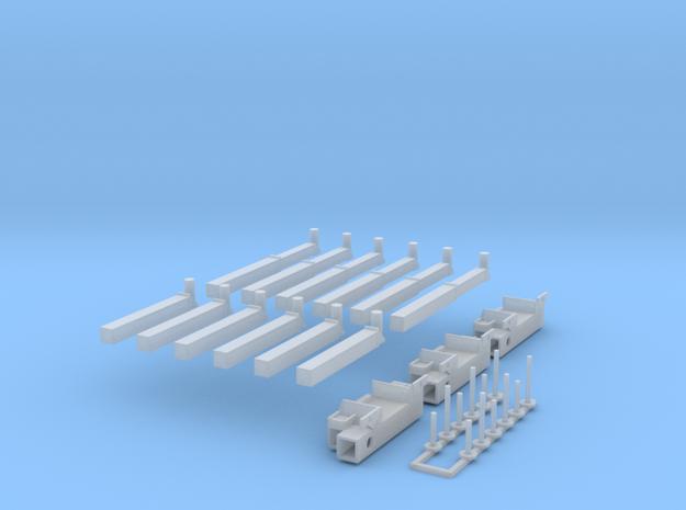 P 150-13 Heckabstuetzung für Ladekran 3x