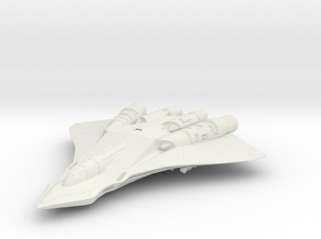 Killjoy II in White Natural Versatile Plastic