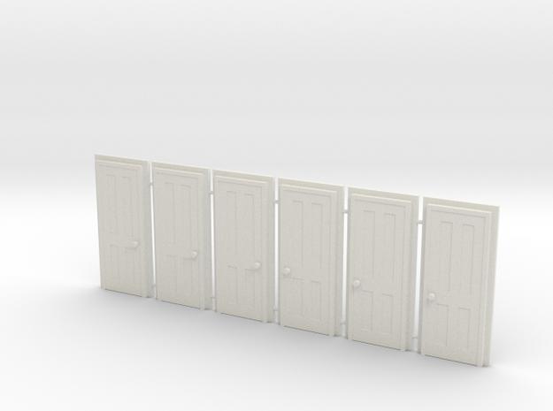Door Type 5 HO Scale X 6