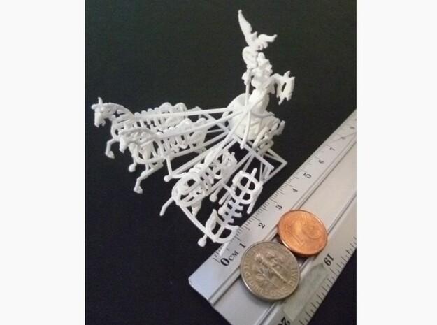 1-144 Quadriga For Brandenburg Gate 3d printed