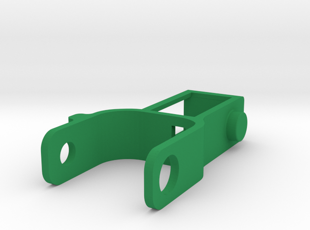 Grippy Bot - Mid Arm in Green Strong & Flexible Polished
