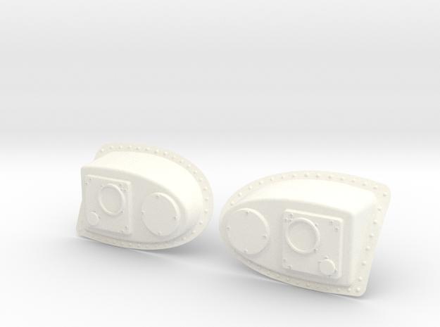 1.8 RADAR DE NEZ TIGRE in White Processed Versatile Plastic