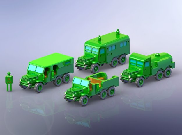 French Laffly S20TL Truck Variants 1/285