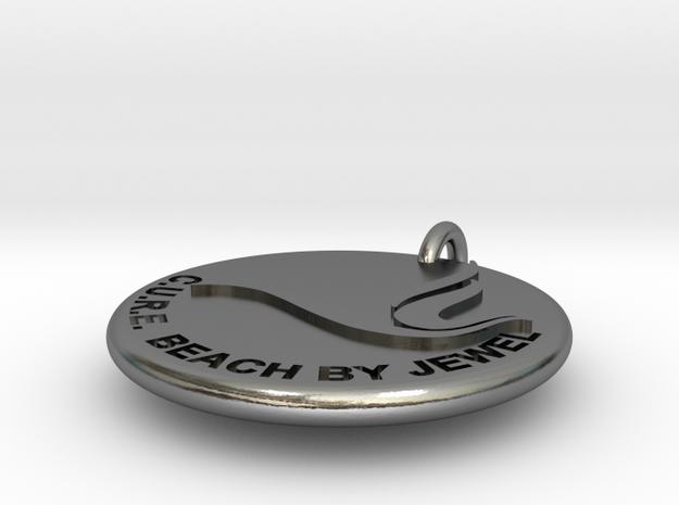 Zeta-Phi-Beta in Polished Silver