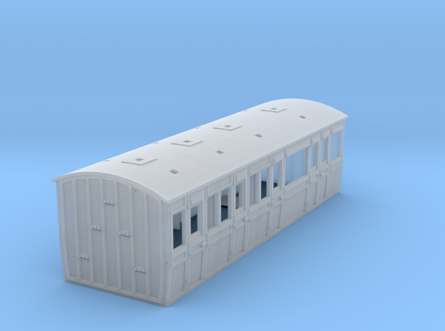 LCDR / SECR Semi-Saloon Disabled - 4mm
