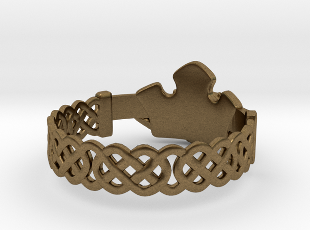 Claddagh Ring 3d printed