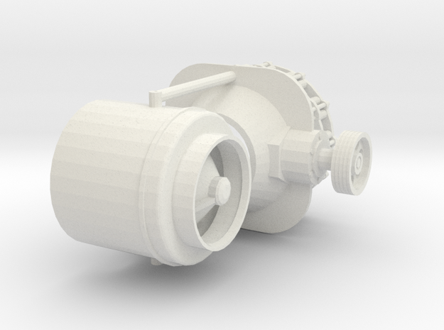 1/25 Cone Crusher for Rock quarry construction in White Natural Versatile Plastic