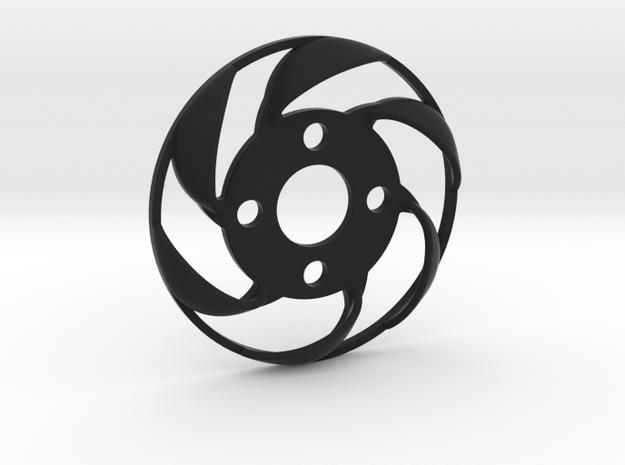 Yokomo YD2 spurgear plate fan in Black Natural Versatile Plastic