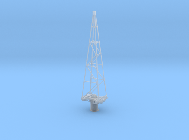 Yamato Crane Tower 1:144 in Smooth Fine Detail Plastic