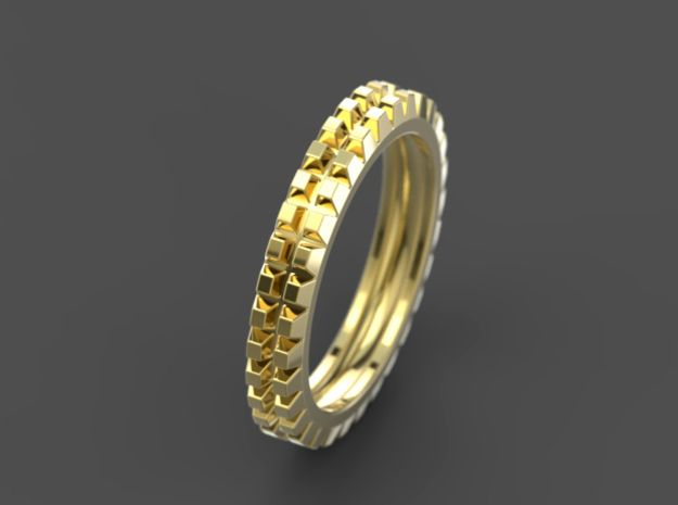 "Stackable ""Deux"" Ring"