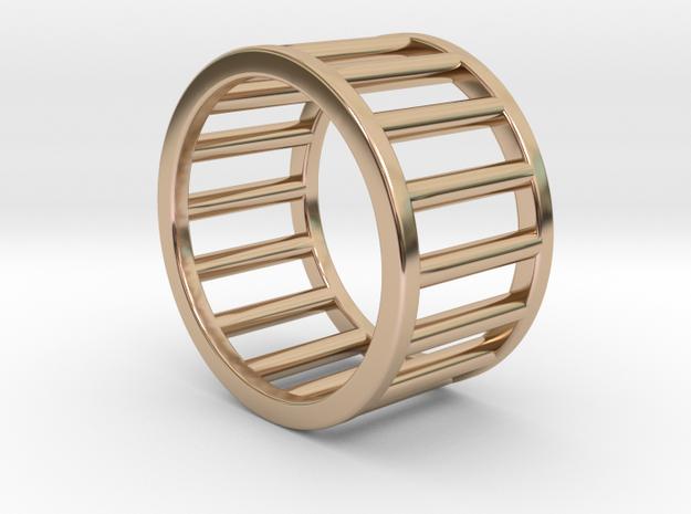 Albaro Ring Size-4 in 14k Rose Gold