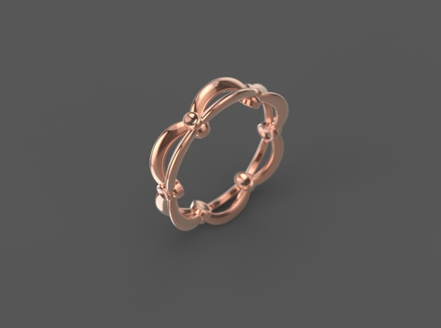 "Stackable ""Kinetic"" Ring"