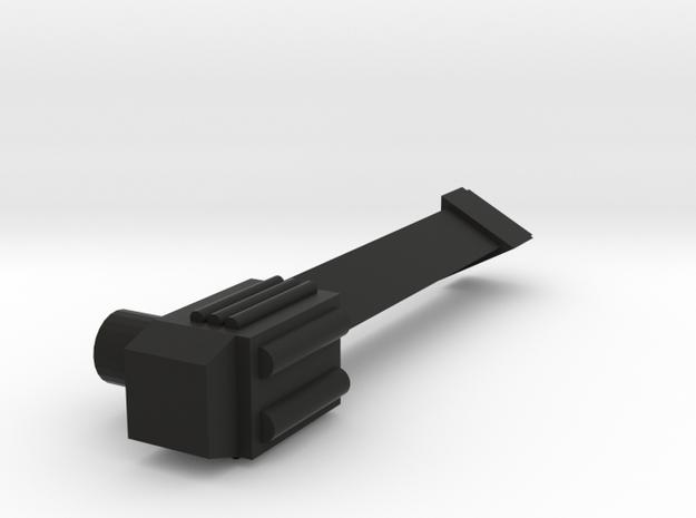 Gizmo Blaster Sniper Version in Black Natural Versatile Plastic