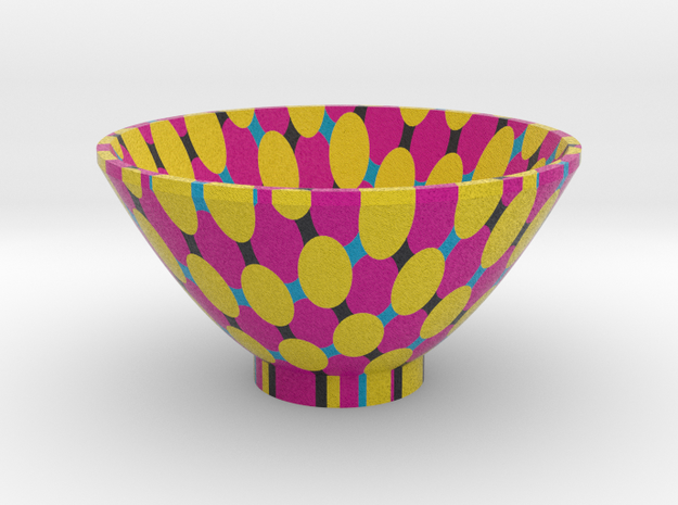 DRAW bowl - segmented J in Full Color Sandstone