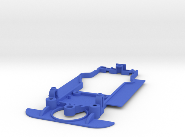 1/32 SRC Matra 670 Chassis for Slot.it pod in Blue Processed Versatile Plastic